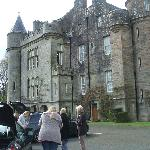 Glenapp - the local castle where we had afternoon tea!