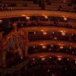 Inside the Mariinsky theatre.