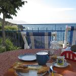Breakfast on the terrazzo