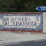 Casa da Padeira - L'insegna in azulejos