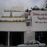 hotel from sidewalk