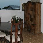 Hotel Los Arcangeles - upstairs balcony