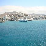 Naxos, port and central city