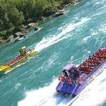 Kids talked us into going on this Whirlpool Jet boat.  Once we got on it, we were just wet the w