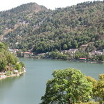 Nainital Lake (Tallital) from the rest house terrace