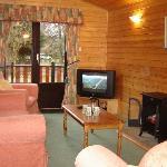 Lounge in Faskally Lodge