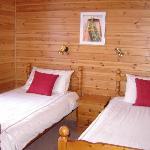 Twin bedroom Rannoch Lodge
