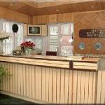 The Reception Counter of Dalziel Hotel