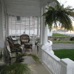 Front porch of Accommodations