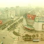 A hazy day in my favorite city in China-- Zhuzhou. April 2005.