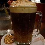 First time I had an Irish coffee.. It was quite strong.