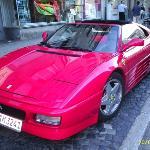 Este era el auto que manejaba en alemania, yiiiaaaaaa....