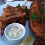 Unpleasant fish and chips