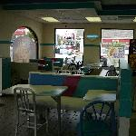 Interior of Taco Bell Rehoboth Beach