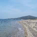 Der Strand von Psakoudia