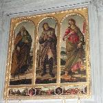 ボッティチェリ派の画家による3人の聖人肖像
