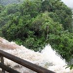 Es la quinta vez que voy a Yguazu, y nunca habia visto tanto caudal de agua