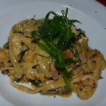 Bridge House Lodge Warkwoth - Shark Bar - Chicken Pasta