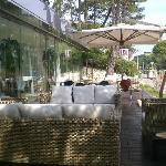 il giardinetto esterno
