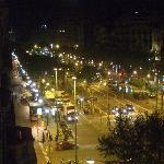 Passeig de Gracia from hotel