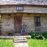Paul outside of his dream home