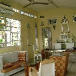 The villa - 1st bedroom's living room