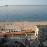 Vistas de la playa desde la habitación