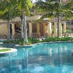 Hacienda Grill Overlooking Pool