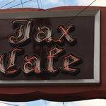Jax Cafe sign