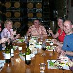 "Lunch - in the ""Barrel Room"""