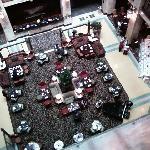 The lobby atrium is just beautiful.