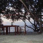 Beachside restaurant- Villa Grasia