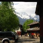 Jade Dragon Snow mountain from Baisha town