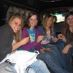 Teenie Cosmos in the Limo