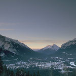 Town of Banff as seen from Mt. Norquay