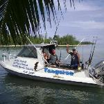 """Capt Moko and the """"Tangaroa"""""""