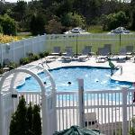 Winnetu guests can swim in two outdoor, heated pools.