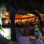 Restaurant at night