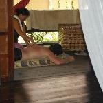 They even arranged for us to get massages. Great for those sore muscles from surfing!