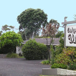 Oakura Beach Motel Entrance
