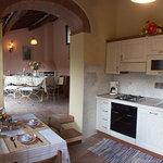 """Casa Capannina"" - kitchen - view living/diningroom"