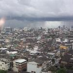 Panoramic view of Bangkok from my room!