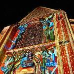 Le Concert des Anges sur le chevet de la cathédrale du Mans