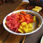 Yummy morning fruit