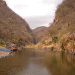 canyon en saison seche - mars/avril