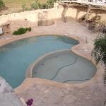La piscine (tot au matin)