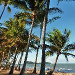 magnifique plage devant l'hotel