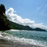 private beach within walking distance