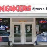 Sneaker's Sports Bar Entrance