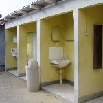 these are the toilets if your cabin does not have one.